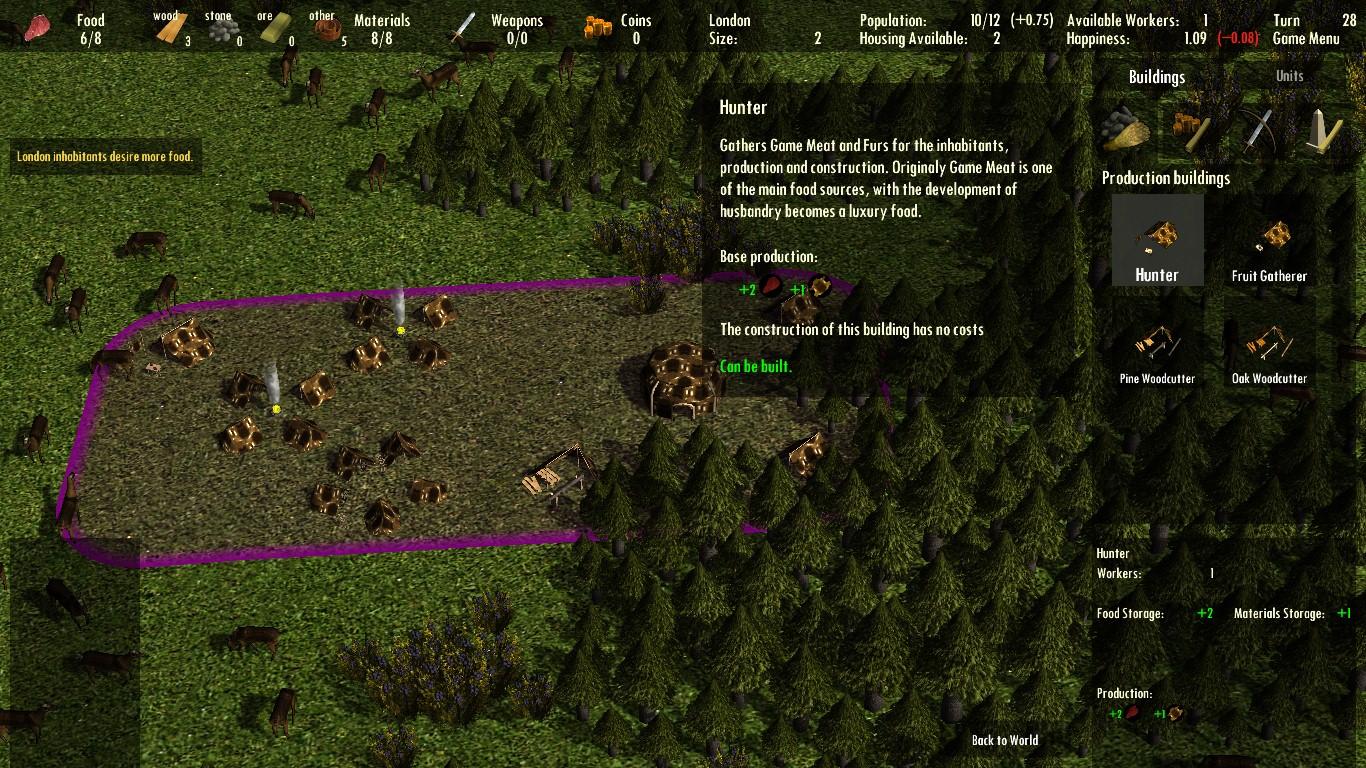 Large screenshot 5 (Hunter)