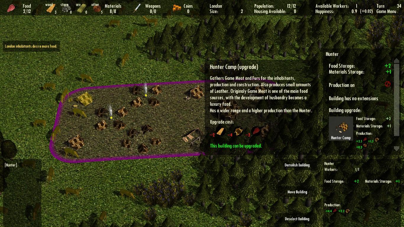 Large screenshot 6 (Hunter Upgrade)